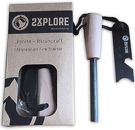 Magnesium Flint Match Striker Lighter Survival Flint Pocket Multi Tools