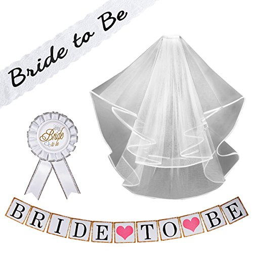 Bachelorette Decorations Supplies Wedding Embroidered product image