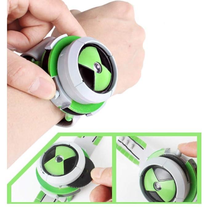 BovoYa 1 Pieza proyector Reloj de Pulsera para niños plástico ...