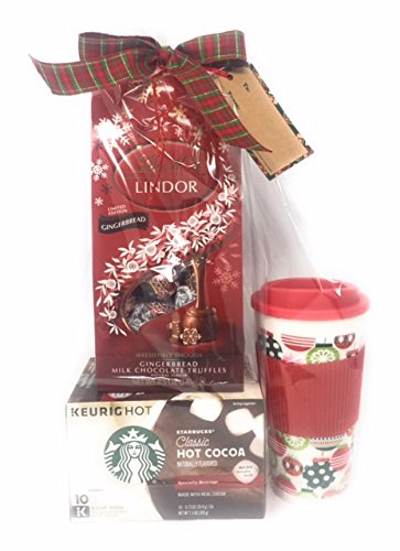 Amazon Com Starbucks Hot Chocolate K Cup Gift Set Includes