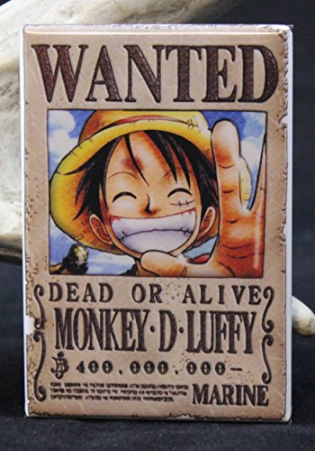 Monkey-D-Luffy-Wanted-Poster-One-Piece-Refrigerator-Magnet