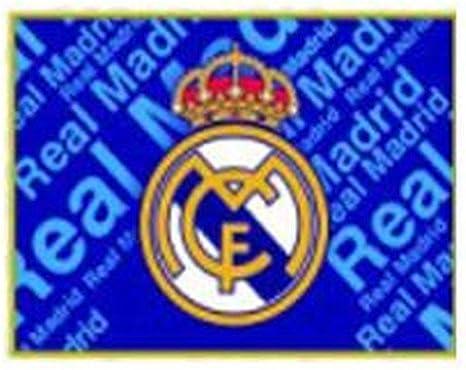 BANDERA REAL MADRID C.F, 0,50 * 0,68 cm: Amazon.es ...