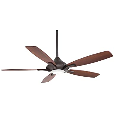Home Decorators Collection Petersford 52 In Led Oil Rubbed Bronze Ceiling Fan