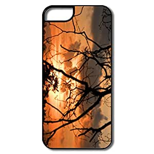 Designed Cute Shell Sunset Wolfheze For IPhone 5/5s