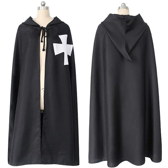 MASII Disfraz De Cosplay De Halloween Caballero Templario Capa De ...