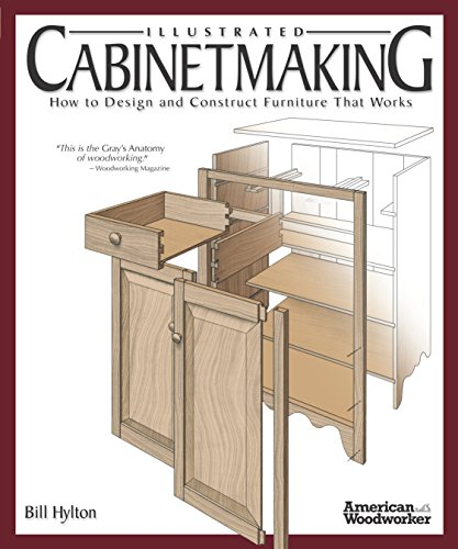 Woodworking Building Plans - Illustrated Cabinetmaking: How to Design and Construct Furniture That Works (Fox Chapel Publishing) Over 1300 Drawings & Diagrams for Drawers, Tables, Beds, Bookcases, Cabinets, Joints & Subassemblies