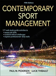 Amazon managing sports events 9780736096119 t christopher contemporary sport management 5th edition with web study guide fandeluxe Gallery