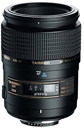 Tamron AF 90mm f/2.8 Di SP AF/MF 1:1 Macro Lens for Nikon Digital SLR Cameras by Tamron
