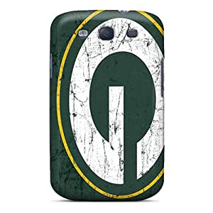 Premium Green Bay Packers Heavy-duty Protection Cases For Galaxy S3