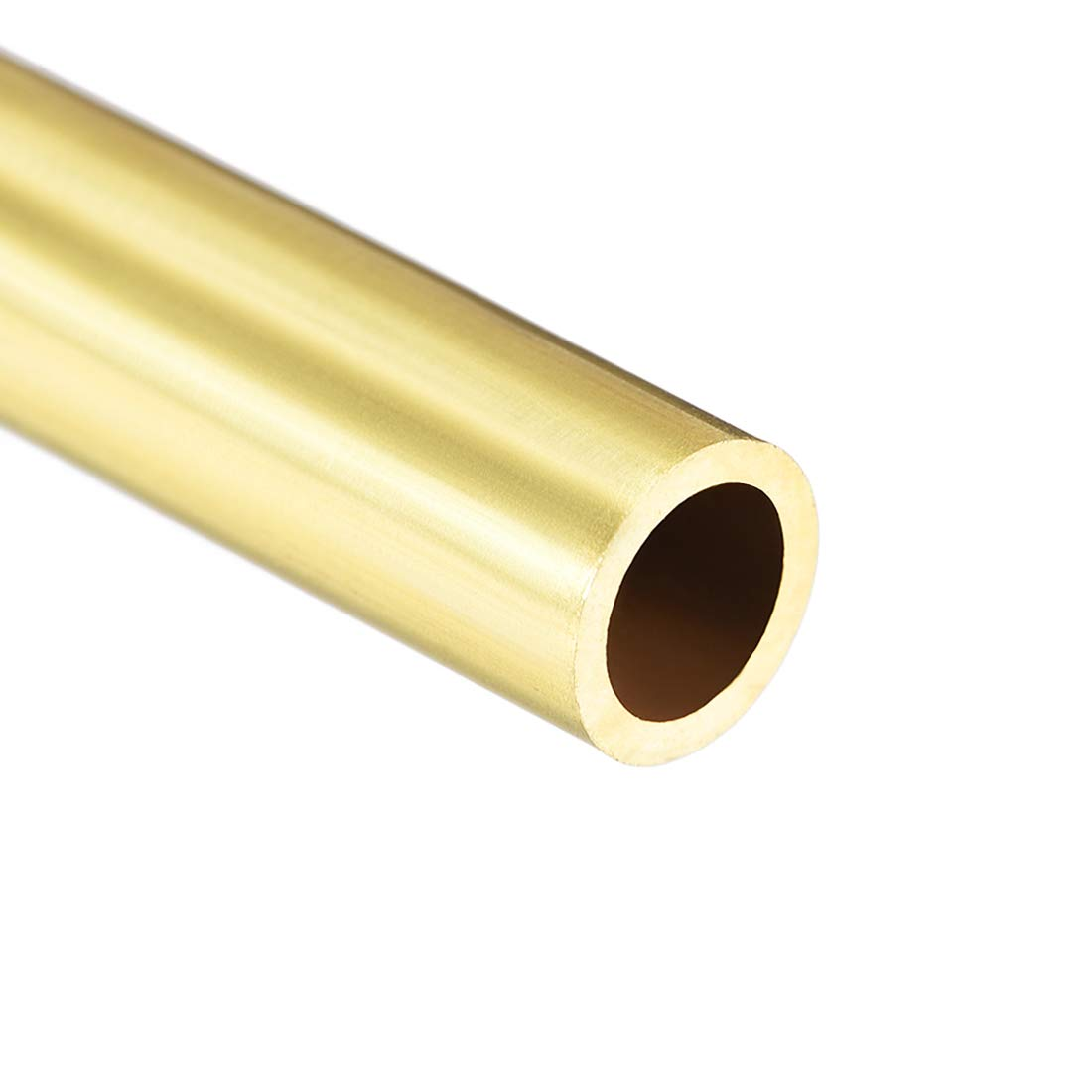 uxcell Brass Round Tube 300mm Length 10mm OD 1mm Wall Thickness Seamless Straight Pipe Tubing 3 Pcs