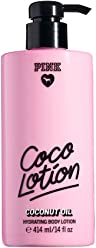 Victorias Secret Pink Coco Lotion Coconut Oil Hydrating Body Lotion 14 Ounce (414 Milliliter)