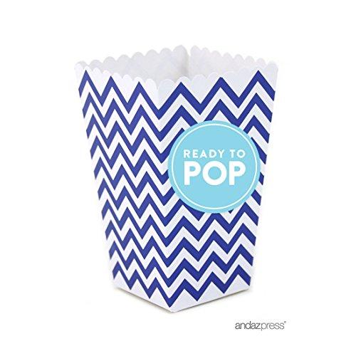 baby blue popcorn box - 5