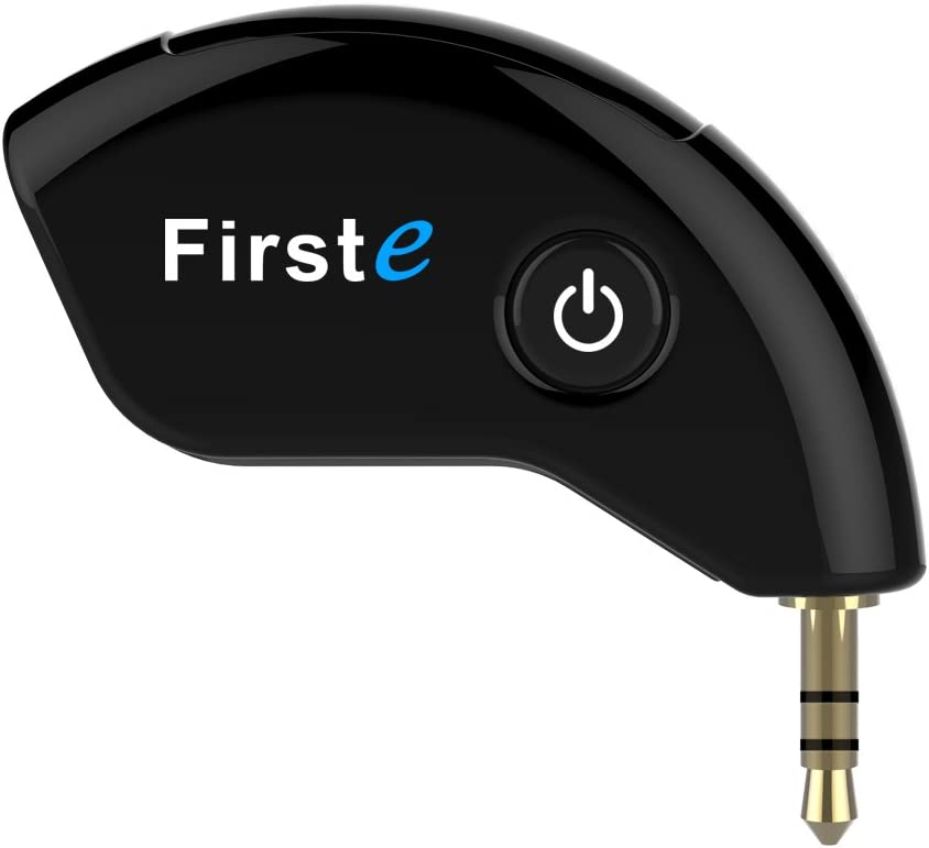 Transmisor Bluetooth Adaptador, Bluetooth Transmisor Inalámbrico para TV y Dispositivos de Audio AUX 3.5 mm Emparejado con 2 Auriculares Bluetooth/Bluetooth Dongle, Transmisión de Música Estéreo A2DP