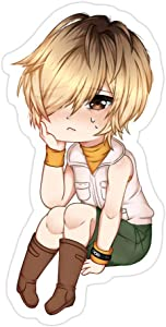 Sneaky Cover (3 PCs/Pack) Silent Hill 3 Heather Chibi 3x4 Inch Die-Cut Stickers Decals for Laptop Window Car Bumper Helmet Water Bottle