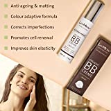 Organic BB Cream Medium - All In One Organic Tinted Sunscreen, Foundation and Natural Tinted moisturizer - Fresh and Flawless Skin Instantly - Natural BB Cream for Medium Dark Colored Skin Tones
