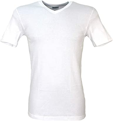 Camiseta Interior Hombre Cuello V algodón cálido 4/M-5/L-6/XL-7 ...