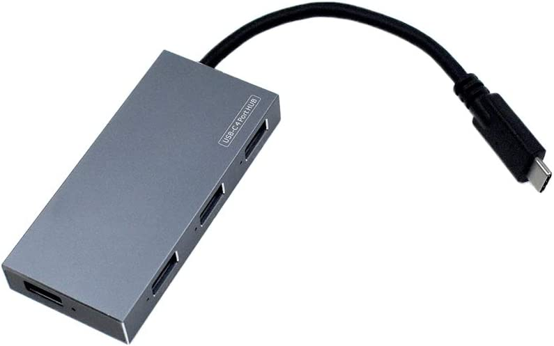 Powered USB PD Hub 3.0 USB Data Hub SplitterIndividual Type-C to 4-Port