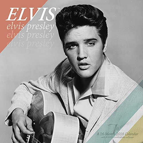 2018 Elvis Presley Wall Calendar (Mead)