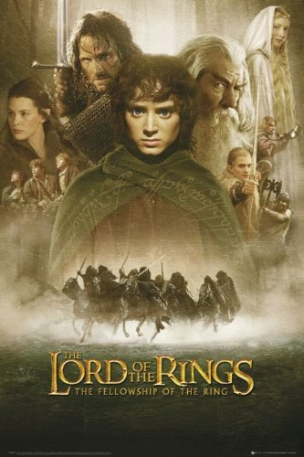 The Lord Of The Rings - The Fellowship Of The Ring - Movie Poster (Regular) (Size: 24