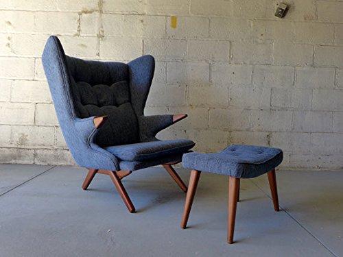 Circa60 Papa Bear Style Lounge Chair + Ottoman 51qKG3O50VL