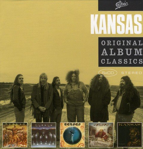 Kansas - 5cd Original Album Classics - Zortam Music
