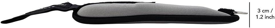 Grey 0.5 Kg Tunturi Soft Ankle Wrist Weights
