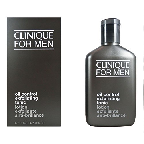 Clinique Oil Control Exfoliating Tonic for Men Lotion, 6.7 Ounce (Scruffing Lotion)