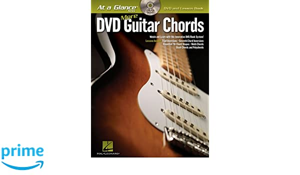 More Guitar Chords (At a Glance) Bk/DVD: Hal Leonard Corp ...