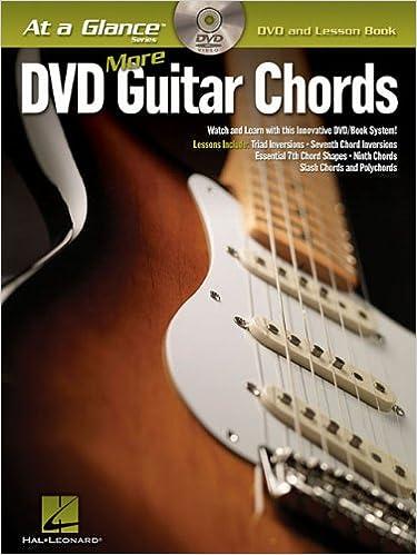 More Guitar Chords At A Glance Bkdvd Hal Leonard Corp