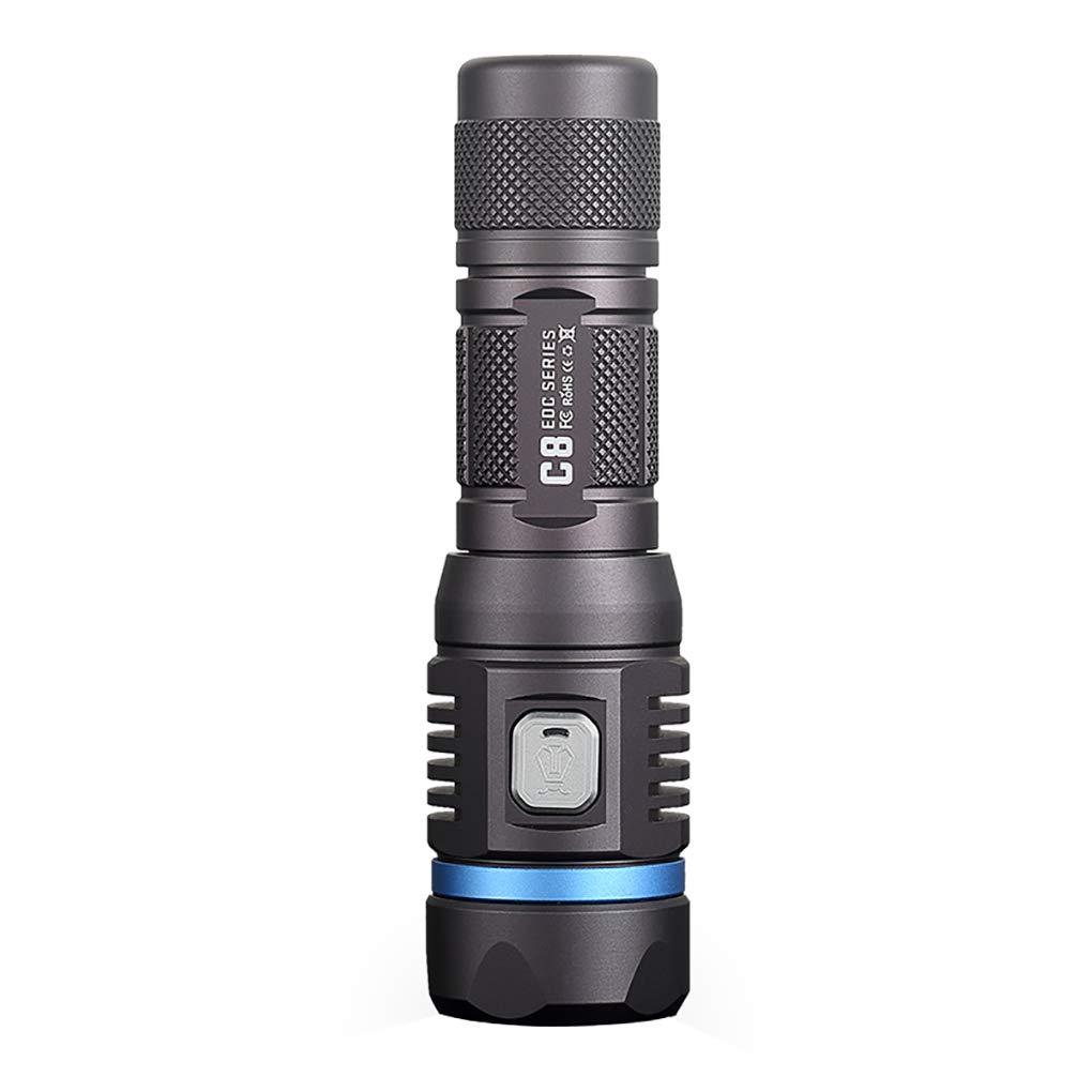 NITEYE C8 PRO 1200 Lumen LED-Taschenlampe Wasserdichte Taschenlampe Lampe 230m Reichweite