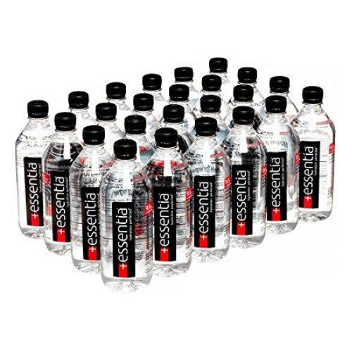 Essentia Ionized Alkaline 9.5 PH Water, 20 Fl Oz, 24 Count