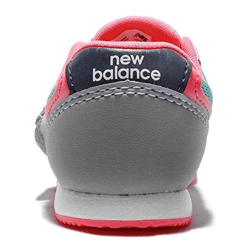 New Balance , Mädchen Sneaker Mehrfarbig Wide Red Navy Green
