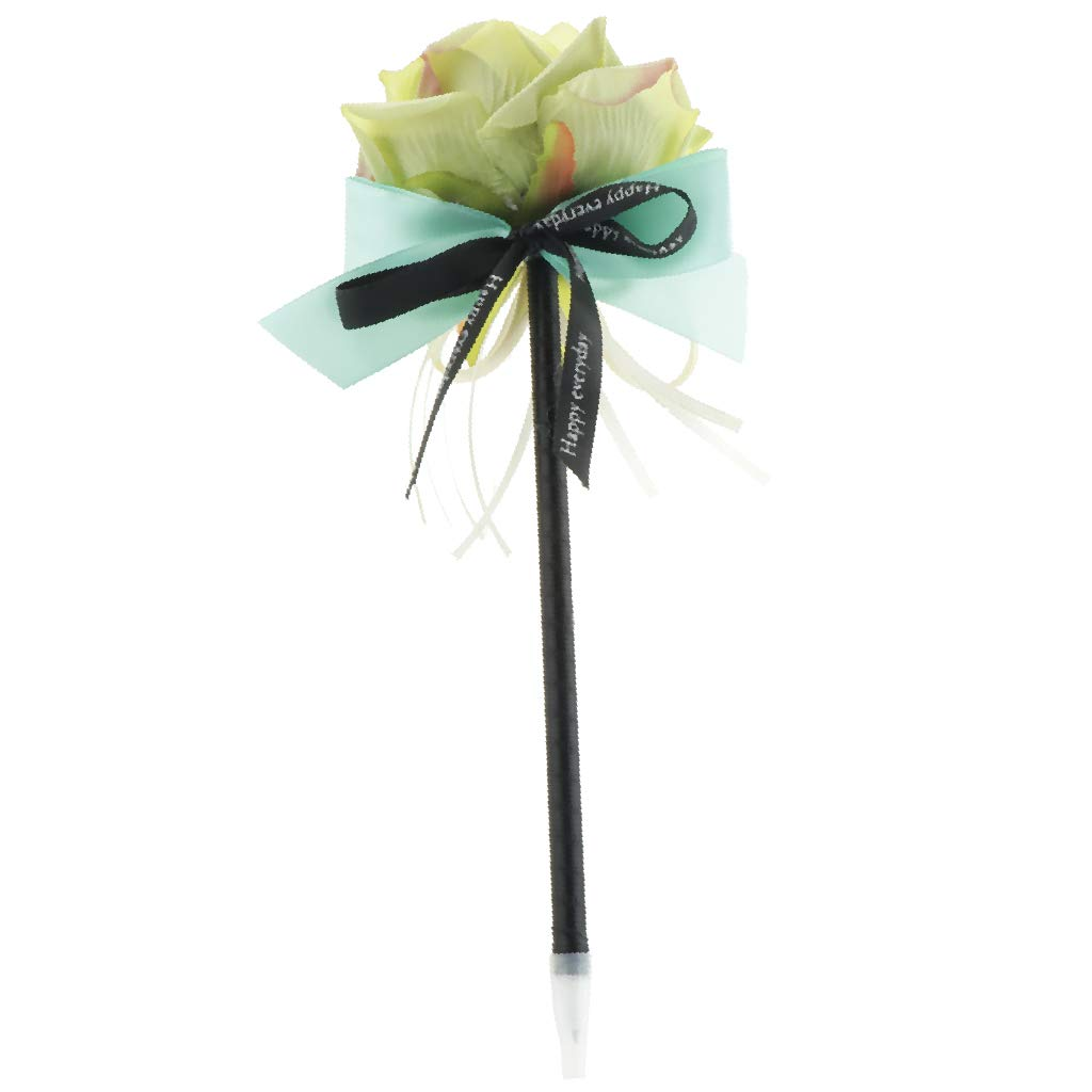 FLAMEER 1 Unidad Bol/í para Casamiento Firma de Flor Banquetes para Obsequio de Caramelos Adornado Azul