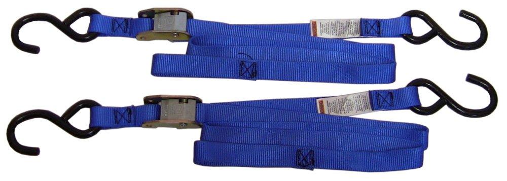 Ancra 40888-34-12 Blue Original Premium Cam Buckle Tie Down, 24 Pack