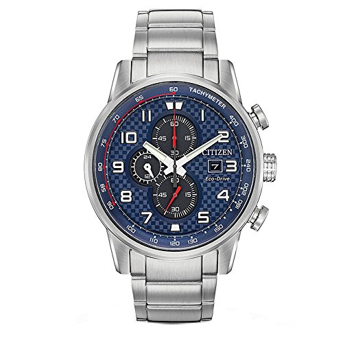 Citizen Primo Blue Dial Stainless Steel Men's Watch CA0680-57L ()