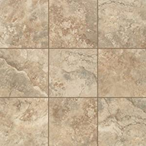 Amazoncom Mohawk Industries Almond Spice Ceramic Floor Tile - 16 inch ceramic floor tile