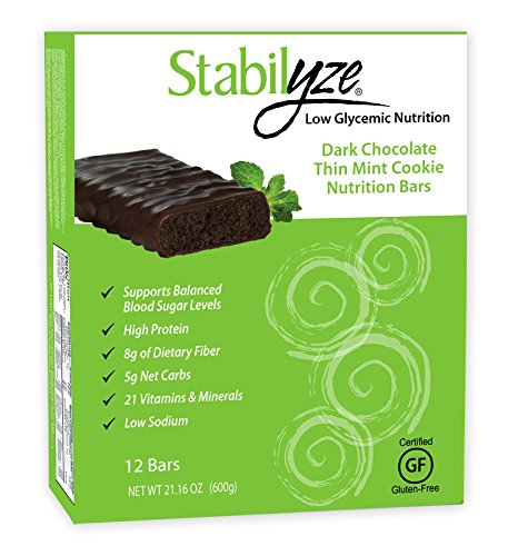 Stabilyze Nutrition Bar - Dark Chocolate Thin Mint Cookie