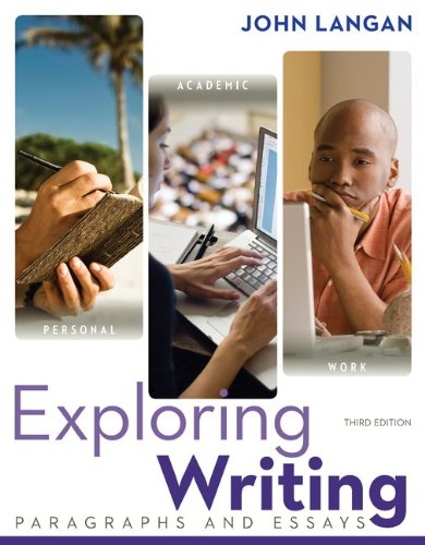 Exploring Writing: Paragraphs and Essays w/ Connect Writing 2.0
