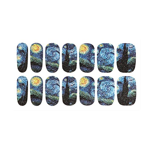 Pixnor Mysterious Starry Patterned Sticker