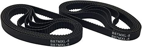B180//B184//B186 MXL Rubber Pulley Timing Belt Close Loop Synchronous Wheel Belt