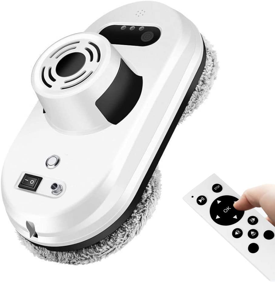 OOLIFENG Robot Aspirador limpiacristales Super succión de 5.6Kpa 4 ...