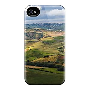Fashion AJRsGro5580UxJrL For Ipod Touch 5 Case Cover (farms In A Fertile Valley)