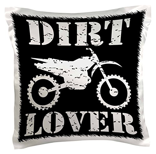 3dRose pc 180550 1 Distressed Graphics Pillow