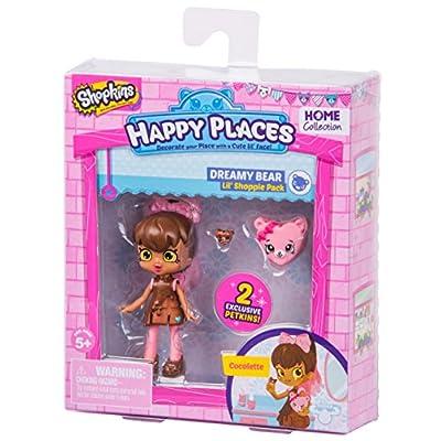 Happy Places Shopkins Season 2 Doll Single Pack Cocolette: Toys & Games