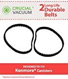 High Quality Long Life Durable Vacuum Belt 2 PK Designed To Fit Kenmore CB-1 Geared Belt Part # 20-5285, 742024 & NuTone Geared Belt Part # 46-3300-03, Hayden Part # 743411, 4193-00, & Cen-Tec Part # EB24010 + Free Shipping