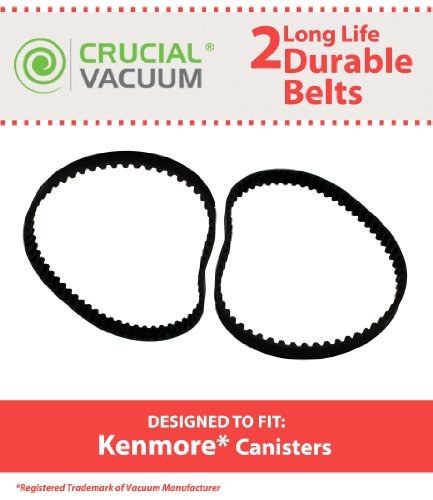 2 Kenmore Canister CB1 Belts (2 Belts) by Kenmore