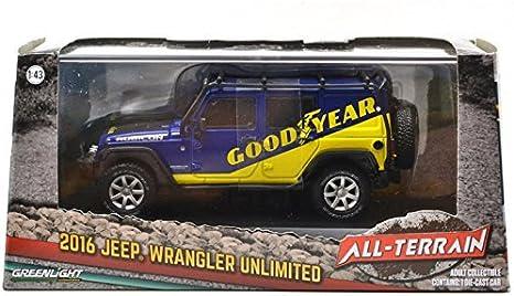 Luz Verde Jeep Wrangler Ilimitado 2016 Goodyear 1//43 86080