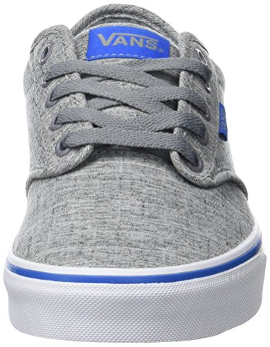 s17 Uomo Basse Mn da Textile Blue Ginnastica Atwood Scarpe Vans Gray Grigio BpfqF