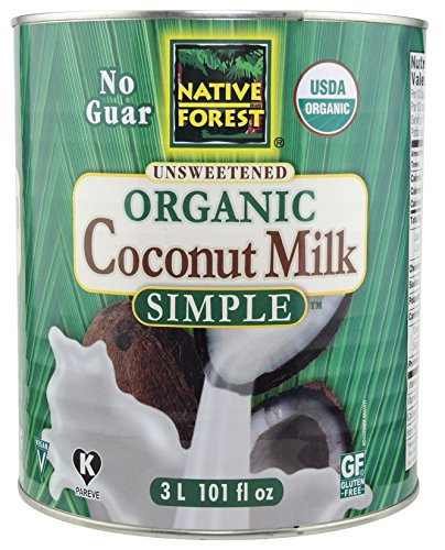 Native Forest Simple Organic Unsweetened Coconut Milk, 101 Ounce Review