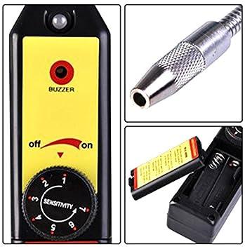 mondpalast@ Acondicionado freón refrigerante alarma Detector de fugas de gas halógeno CFC / HFC R134a: Amazon.es: Electrónica